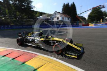 World © Octane Photographic Ltd. Formula 1 – Belgium GP - Qualifying. Renault Sport F1 Team RS19 – Nico Hulkenberg. Circuit de Spa Francorchamps, Belgium. Saturday 31st August 2019.