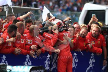 World © Octane Photographic Ltd. Formula 1 – Belgium GP - Race Podium. Scuderia Ferrari SF90 – Charles Leclerc. Circuit de Spa Francorchamps, Belgium. Sunday 1st September 2019.