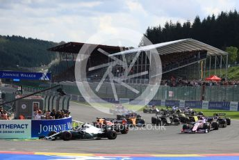 World © Octane Photographic Ltd. Formula 1 – Belgium GP - Race. Mercedes AMG Petronas Motorsport AMG F1 W10 EQ Power+ - Valtteri Bottas. Circuit de Spa Francorchamps, Belgium. Sunday 1st September 2019.