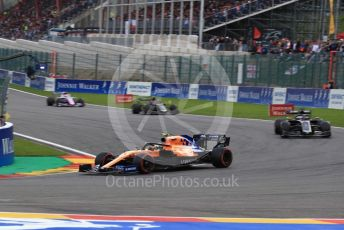 World © Octane Photographic Ltd. Formula 1 – Belgium GP - Race. McLaren MCL34 – Lando Norris. Circuit de Spa Francorchamps, Belgium. Sunday 1st September 2019.