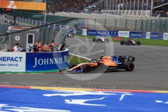 World © Octane Photographic Ltd. Formula 1 – Belgium GP - Race. McLaren MCL34 – Lando Norris. Circuit de Spa Francorchamps, Belgium. Sunday 1st September 2019.
