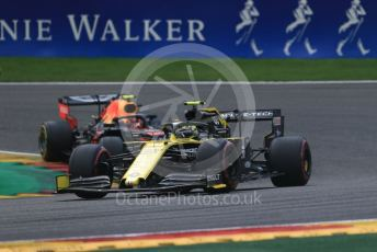 World © Octane Photographic Ltd. Formula 1 – Belgium GP - Race. Renault Sport F1 Team RS19 – Nico Hulkenberg. Circuit de Spa Francorchamps, Belgium. Sunday 1st September 2019.