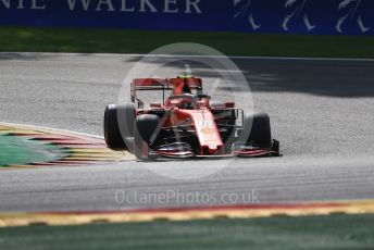 World © Octane Photographic Ltd. Formula 1 – Belgium GP - Race. Scuderia Ferrari SF90 – Charles Leclerc. Circuit de Spa Francorchamps, Belgium. Sunday 1st September 2019.