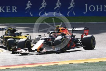 World © Octane Photographic Ltd. Formula 1 – Belgium GP - Race. Aston Martin Red Bull Racing RB15 – Alexander Albon. Circuit de Spa Francorchamps, Belgium. Sunday 1st September 2019.