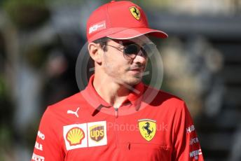 World © Octane Photographic Ltd. Formula 1 – Belgium GP - Paddock. Scuderia Ferrari SF90 – Charles Leclerc. Circuit de Spa Francorchamps, Belgium. Friday 30th August 2019.