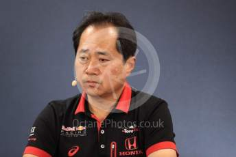 World © Octane Photographic Ltd. Formula 1 - Hungarian GP – Friday FIA Team Press Conference. Toyoharu Tanube - Honda Performance Development (HPD) Senior Manager. Circuit de Spa Francorchamps, Belgium. Friday 29th August 2019.