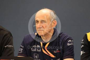 World © Octane Photographic Ltd. Formula 1 - Hungarian GP – Friday FIA Team Press Conference. Franz Tost – Team Principal of Scuderia Toro Rosso. Circuit de Spa Francorchamps, Belgium. Friday 29th August 2019.