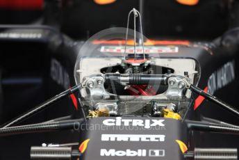 World © Octane Photographic Ltd. Formula 1 – Belgium GP - Pit Lane. Aston Martin Red Bull Racing RB15. Circuit de Spa Francorchamps, Belgium. Thursday 28th August 2019.