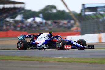 World © Octane Photographic Ltd. Formula 1 – British GP - Qualifying. Scuderia Toro Rosso STR14 – Alexander Albon. Silverstone Circuit, Towcester, Northamptonshire. Saturday 13th July 2019.