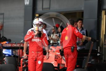 World © Octane Photographic Ltd. Formula 1 – British GP - Qualifying. Scuderia Ferrari SF90 – Sebastian Vettel. Silverstone Circuit, Towcester, Northamptonshire. Saturday 13th July 2019.