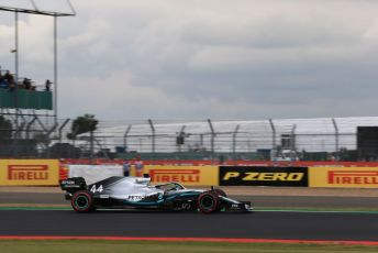 World © Octane Photographic Ltd. Formula 1 – British GP - Qualifying. Mercedes AMG Petronas Motorsport AMG F1 W10 EQ Power+ - Lewis Hamilton. Silverstone Circuit, Towcester, Northamptonshire. Saturday 13th July 2019.