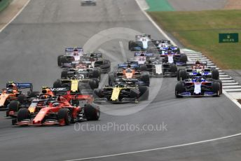 World © Octane Photographic Ltd. Formula 1 – British GP - Race. Scuderia Toro Rosso STR14 – Alexander Albon. Silverstone Circuit, Towcester, Northamptonshire. Sunday 14th July 2019.