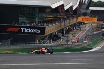 World © Octane Photographic Ltd. Formula 1 – British GP - Race. McLaren MCL34 – Carlos Sainz. Silverstone Circuit, Towcester, Northamptonshire. Sunday 14th July 2019.