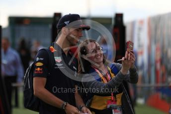 World © Octane Photographic Ltd. Formula 1 – British GP - Paddock. Aston Martin Red Bull Racing RB15 – Pierre Gasly. Silverstone Circuit, Towcester, Northamptonshire. Friday 12th July 2019.
