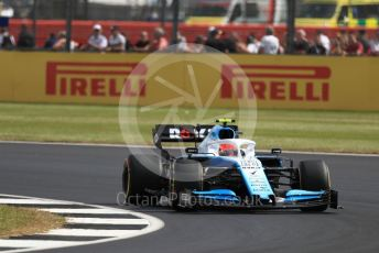 World © Octane Photographic Ltd. Formula 1 – British GP - Practice 1. ROKiT Williams Racing FW42 – Robert Kubica. Silverstone Circuit, Towcester, Northamptonshire. Friday 12th July 2019.