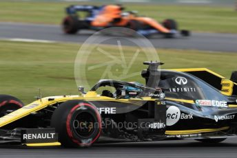 World © Octane Photographic Ltd. Formula 1 – British GP - Practice 1. Renault Sport F1 Team RS19 – Daniel Ricciardo. Silverstone Circuit, Towcester, Northamptonshire. Friday 12th July 2019.