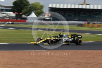World © Octane Photographic Ltd. Formula 1 – British GP - Practice 1. Renault Sport F1 Team RS19 – Nico Hulkenberg. Silverstone Circuit, Towcester, Northamptonshire. Friday 12th July 2019.