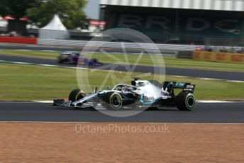 World © Octane Photographic Ltd. Formula 1 – British GP - Practice 1. Mercedes AMG Petronas Motorsport AMG F1 W10 EQ Power+ - Lewis Hamilton. Silverstone Circuit, Towcester, Northamptonshire. Friday 12th July 2019.