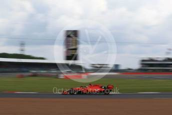 World © Octane Photographic Ltd. Formula 1 – British GP - Practice 1. Scuderia Ferrari SF90 – Sebastian Vettel. Silverstone Circuit, Towcester, Northamptonshire. Friday 12th July 2019.