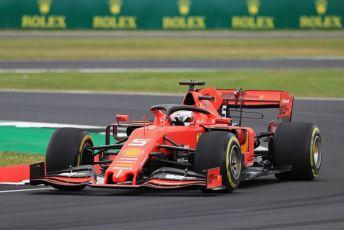 World © Octane Photographic Ltd. Formula 1 – British GP - Practice 2. Scuderia Ferrari SF90 – Sebastian Vettel. Silverstone Circuit, Towcester, Northamptonshire. Friday 12th July 2019.