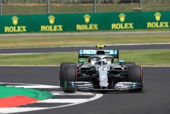 World © Octane Photographic Ltd. Formula 1 – British GP - Practice 2. Mercedes AMG Petronas Motorsport AMG F1 W10 EQ Power+ - Valtteri Bottas. Silverstone Circuit, Towcester, Northamptonshire. Friday 12th July 2019.