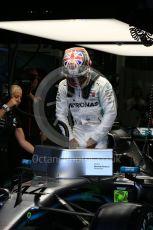 World © Octane Photographic Ltd. Formula 1 – British GP - Practice 3. Mercedes AMG Petronas Motorsport AMG F1 W10 EQ Power+ - Lewis Hamilton. Silverstone Circuit, Towcester, Northamptonshire. Saturday 13th July 2019.