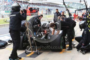 World © Octane Photographic Ltd. Formula 1 – British GP - Practice 3. Mercedes AMG Petronas Motorsport AMG F1 W10 EQ Power+ - Valtteri Bottas. Silverstone Circuit, Towcester, Northamptonshire. Saturday 13th July 2019.