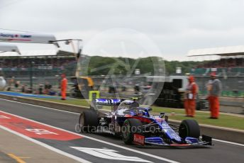 World © Octane Photographic Ltd. Formula 1 – British GP - Practice 3. Scuderia Toro Rosso STR14 – Alexander Albon. Silverstone Circuit, Towcester, Northamptonshire. Saturday 13th July 2019.