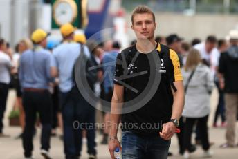 World © Octane Photographic Ltd. Formula 1 - British GP - Paddock. Sergey Sirotkin - Test Driver McLaren and Renault Sport F1 Team. Silverstone Circuit, Towcester, Northamptonshire. Saturday 13th July 2019.