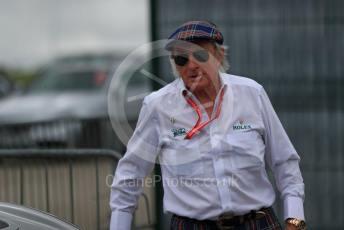 World © Octane Photographic Ltd. Formula 1 - British GP - Paddock. Sir Jackie Stewart. Silverstone Circuit, Towcester, Northamptonshire. Sunday 14th July 2019.