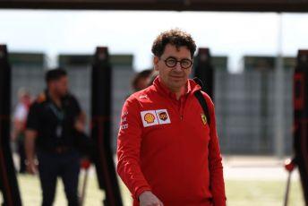 World © Octane Photographic Ltd. Formula 1 - British GP - Paddock. Mattia Binotto – Team Principal of Scuderia Ferrari. Silverstone Circuit, Towcester, Northamptonshire. Thursday 11th July 2019.