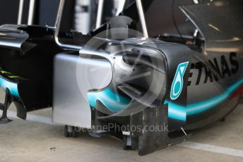 World © Octane Photographic Ltd. Formula 1 – British GP - Pit Lane. Mercedes AMG Petronas Motorsport AMG F1 W10 EQ Power+.. Silverstone Circuit, Towcester, Northamptonshire. Thursday 11th July 2019.
