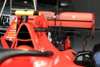 World © Octane Photographic Ltd. Formula 1 – British GP - Pit Lane. Scuderia Ferrari SF90. Silverstone Circuit, Towcester, Northamptonshire. Thursday 11th July 2019.