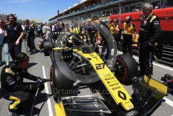 World © Octane Photographic Ltd. Formula 1 – Canadian GP. Grid. Renault Sport F1 Team RS19 – Nico Hulkenberg. Circuit de Gilles Villeneuve, Montreal, Canada. Sunday 9th June 2019.
