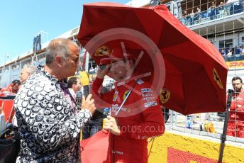 World © Octane Photographic Ltd. Formula 1 – Canadian GP. Grid. Scuderia Ferrari SF90 – Charles Leclerc. Circuit de Gilles Villeneuve, Montreal, Canada. Sunday 9th June 2019.