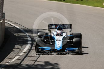 World © Octane Photographic Ltd. Formula 1 – Canadian GP. Practice 1. ROKiT Williams Racing FW 42 – George Russell. Circuit de Gilles Villeneuve, Montreal, Canada. Friday 7th June 2019.