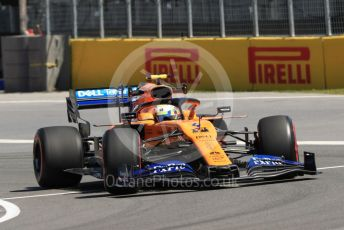 World © Octane Photographic Ltd. Formula 1 – Canadian GP. Practice 1. McLaren MCL34 – Lando Norris. Circuit de Gilles Villeneuve, Montreal, Canada. Friday 7th June 2019.