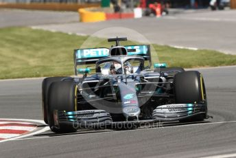World © Octane Photographic Ltd. Formula 1 – Canadian GP. Practice 1. Mercedes AMG Petronas Motorsport AMG F1 W10 EQ Power+ - Lewis Hamilton. Circuit de Gilles Villeneuve, Montreal, Canada. Friday 7th June 2019.