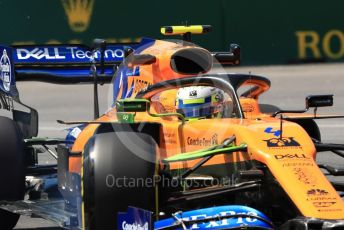 World © Octane Photographic Ltd. Formula 1 – Canadian GP. Practice 2. McLaren MCL34 – Lando Norris. Circuit de Gilles Villeneuve, Montreal, Canada. Friday 7th June 2019.