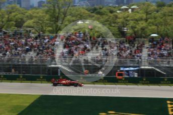 World © Octane Photographic Ltd. Formula 1 – Canadian GP. Practice 2. Scuderia Ferrari SF90 – Sebastian Vettel. Circuit de Gilles Villeneuve, Montreal, Canada. Friday 7th June 2019.