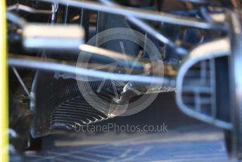World © Octane Photographic Ltd. Formula 1 – Canadian GP. Practice 3. Renault Sport F1 Team RS19 brakes. Circuit de Gilles Villeneuve, Montreal, Canada. Saturday 8th June 2019.