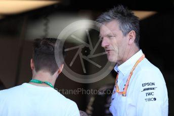 World © Octane Photographic Ltd. Formula 1 - Canadian GP. Practice 3. James Allison - Technical Director of Mercedes - AMG Petronas Motorsport. Circuit de Gilles Villeneuve, Montreal, Canada. Saturday 8th June 2019.