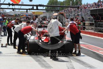 World © Octane Photographic Ltd. Formula 1 – Canadian GP. Practice 3. Alfa Romeo Racing C38 – Kimi Raikkonen. Circuit de Gilles Villeneuve, Montreal, Canada. Saturday 8th June 2019.
