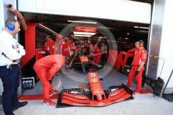 World © Octane Photographic Ltd. Formula 1 – Canadian GP. Practice 3. Scuderia Ferrari SF90 – Sebastian Vettel. Circuit de Gilles Villeneuve, Montreal, Canada. Saturday 8th June 2019.