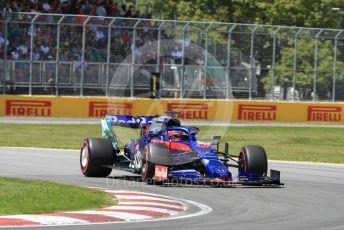 World © Octane Photographic Ltd. Formula 1 – Canadian GP. Qualifying. Scuderia Toro Rosso STR14 – Daniil Kvyat. Circuit de Gilles Villeneuve, Montreal, Canada. Saturday 8th June 2019.