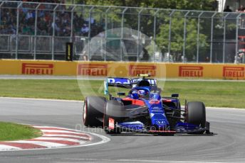 World © Octane Photographic Ltd. Formula 1 – Canadian GP. Qualifying. Scuderia Toro Rosso STR14 – Alexander Albon. Circuit de Gilles Villeneuve, Montreal, Canada. Saturday 8th June 2019.