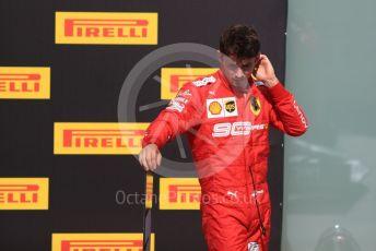 World © Octane Photographic Ltd. Formula 1 – Canadian GP. Parc Ferme. Scuderia Ferrari SF90 – Charles Leclerc. Circuit de Gilles Villeneuve, Montreal, Canada. Sunday 9th June 2019.