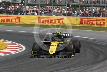 World © Octane Photographic Ltd. Formula 1 – Canadian GP. Race. Renault Sport F1 Team RS19 – Nico Hulkenberg. Circuit de Gilles Villeneuve, Montreal, Canada. Sunday 9th June 2019.