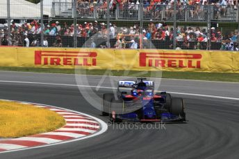 World © Octane Photographic Ltd. Formula 1 – Canadian GP. Race. Scuderia Toro Rosso STR14 – Daniil Kvyat. Circuit de Gilles Villeneuve, Montreal, Canada. Sunday 9th June 2019.