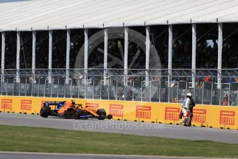 World © Octane Photographic Ltd. Formula 1 – Canadian GP. Race. McLaren MCL34 – Lando Norris. Circuit de Gilles Villeneuve, Montreal, Canada. Sunday 9th June 2019.